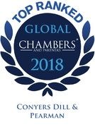 Conyers Recognised as Band 1 by Chambers & Partners